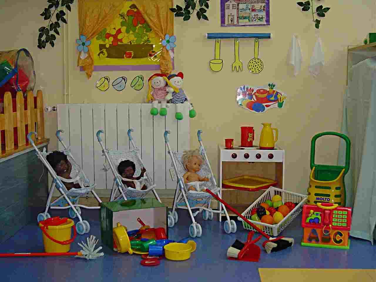 Los rincones de trabajo en el aula actividades infantil for Proyecto de construccion de aulas de clases