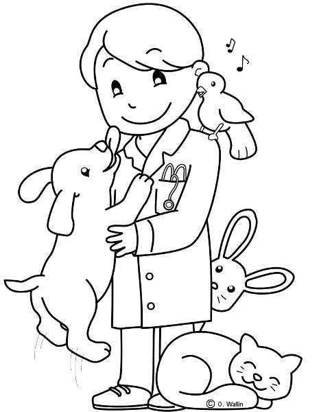 veterinariocolorear