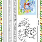 Fichas de lectoescritura para niños: Perrito y mariquita