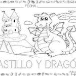 Dibujo de castillo 4 para colorear