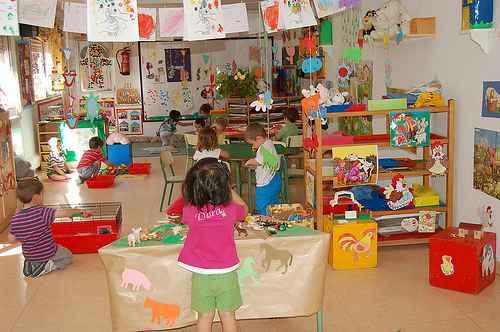 La organizaci n de los espacios del aula en las for Decoracion de espacios de preescolar