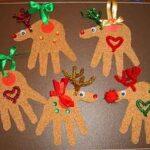 Hacer Renos Simpaticos Para Decorar Columnas Para Navidad