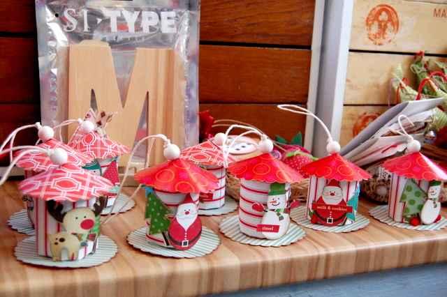 Casitas de navidad para decorar nuestro rbol - Casitas en el arbol ...