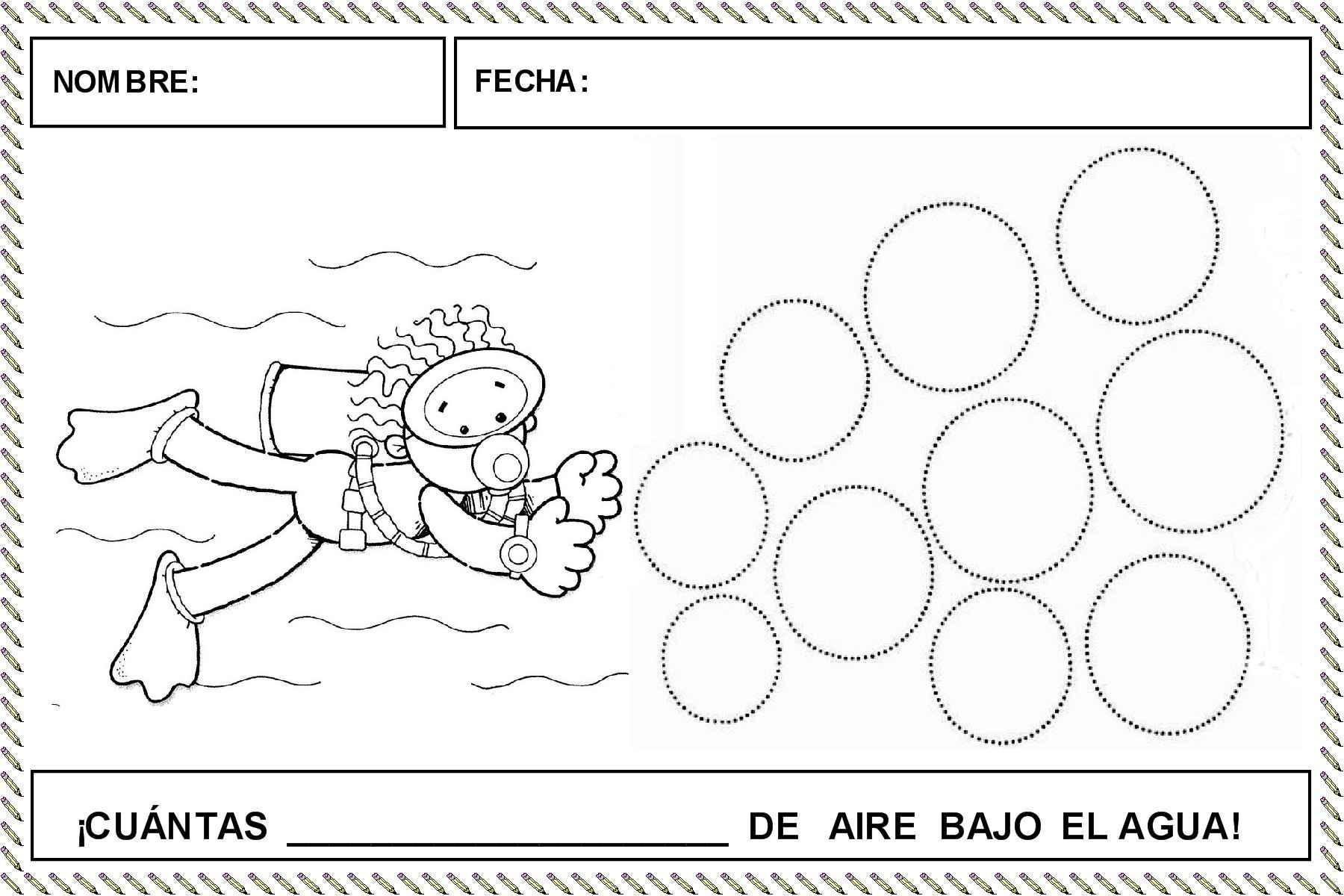 FICHAS PARA TRABAJAR EL TRAZO CIRCULAR | Actividades infantil