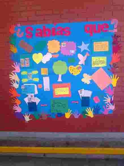 Mini proyecto de trabajo un peri dico mural en clase for El periodico mural y sus secciones