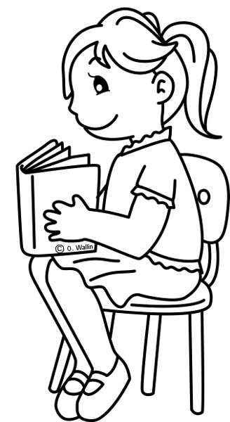 DIBUJOS PARA COLOREAR EL DÍA DEL LIBRO - Actividades infantil