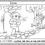 Aprendemos a escribir con los meses del año: Octubre