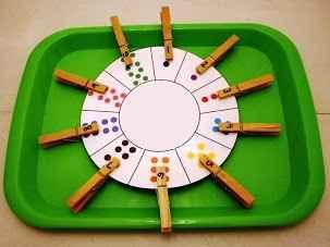 Juego Matematico La Ruleta De Los Numeros Actividades Infantil