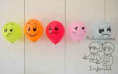 Educando Las Emociones Jugamos Con Los Globos Expresivos