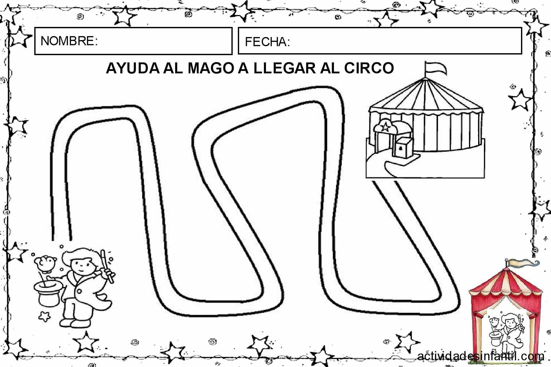 Dossier de trabajo el circo de los magos primera entrega