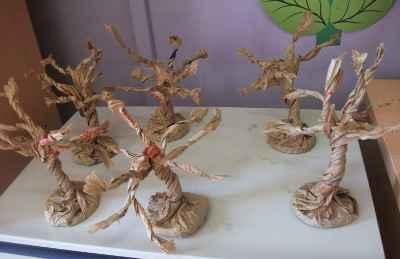 El hanami japon s llega a clase c mo preparar cerezos - Arbol de papel manualidades ...