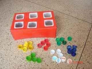 Juego Didactico Con Material Reciclable