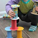 Un juego de construcción hecho en casa
