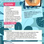 Recetas de cocina para niños: La ovejita Coliflor