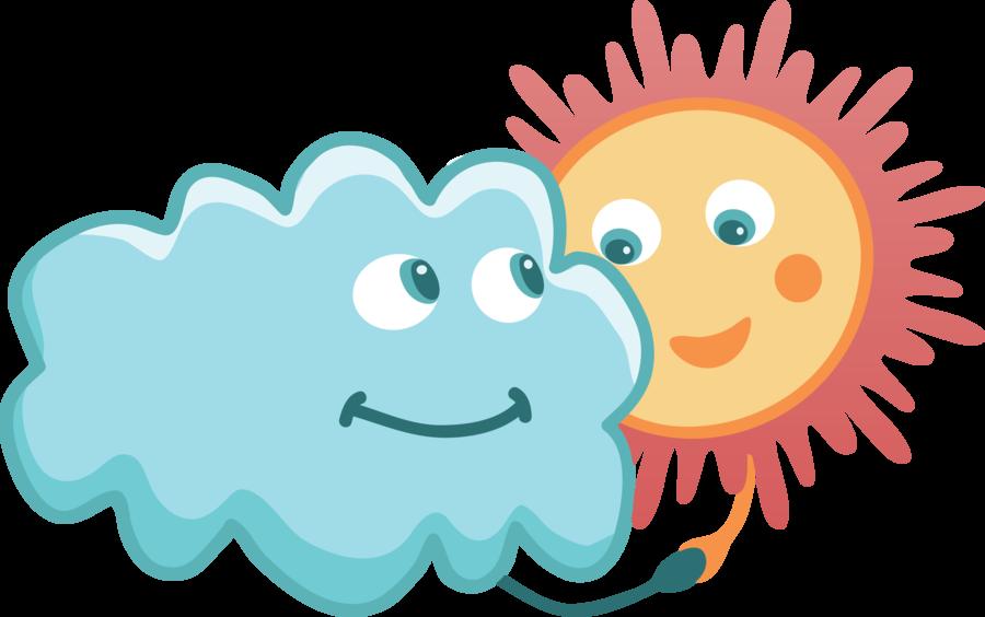 Bonitas etiquetas para el cartel del tiempo actividades - Imagenes de nubes infantiles ...
