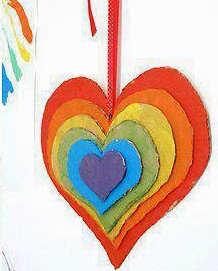 Cómo crear un corazón en relieve para decorar la habitación de los peques