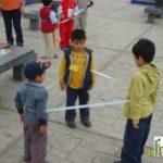 Matemáticas divertidas: Creamos un geoplano humano