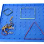 Cómo preparar y utilizar el geoplano para trabajar las figuras geométricas con los peques