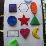 Aprendiendo las formas geométricas  con un sencillo juego de siluetas