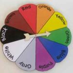 Aprendemos los colores con una ruleta de la suerte