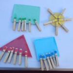 Cómo trabajar las formas geométricas y los colores con un sencillo recurso