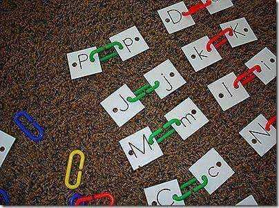 enganchamos las letras