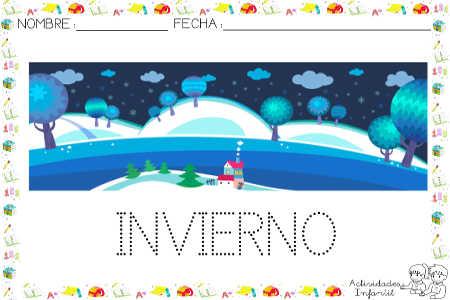 Libro invierno actividades infantil - Proyecto el invierno ...
