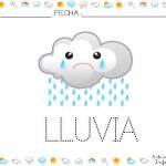 Fichas para trabajar el libro del tiempo: La lluvia