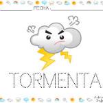 Fichas para trabajar el libro del tiempo: La tormenta