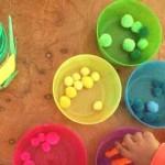 Una simpática actividad para aprender matemáticas La Ranita Come-bolas