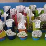 Un abecedario reciclado para aprender las letras