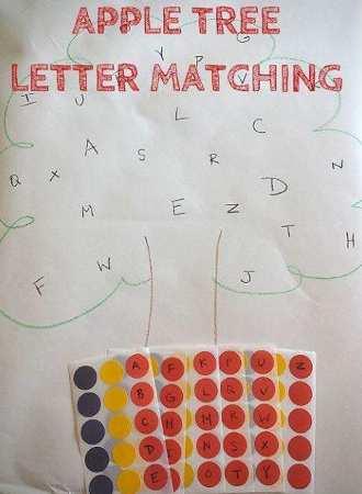 arbol de letras