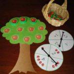 Aprendemos a sumar y restar con un árbol lleno de manzanas