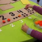 Aprendiendo a contar al estilo Montessori