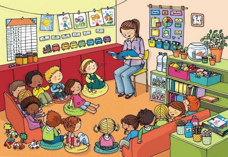 Organizaci n del aula actividades infantil for Actividades para el salon de clases