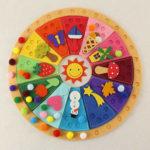 Cómo enseñar a los peques el concepto del paso del tiempo con el calendario Waldorf-Montessori