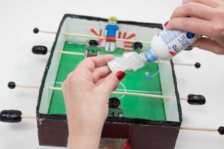 Como Preparar Un Futbolin Casero Actividades Infantil