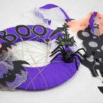 Una guirnalda terroríficamente divertida para Halloween