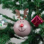 Cómo preparar unas bonitas bolas para el árbol de Navidad