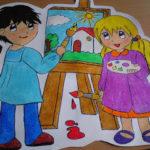 Arte en la escuela: Proyecto de los pintores
