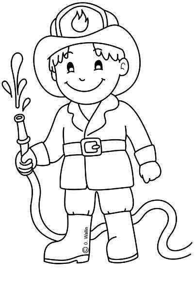 Profesiones Para Colorear Actividades Infantil