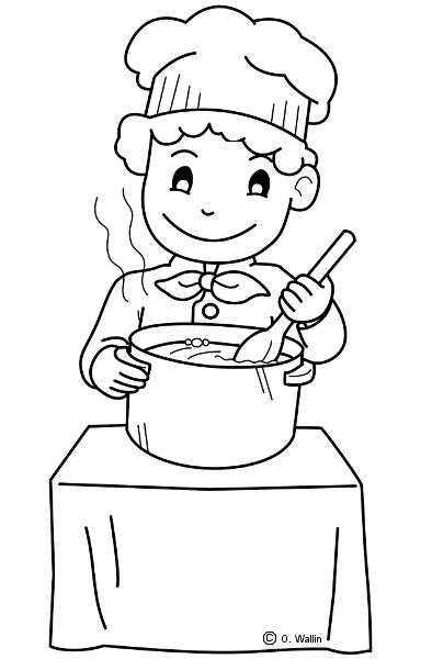cocinerocolorear