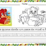 FICHAS DE TRABAJO: APRENDEMOS A LEER Y ESCRIBIR CON BONITOS ANIMALES (1)