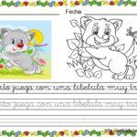 FICHAS DE TRABAJO: APRENDEMOS A LEER Y ESCRIBIR CON BONITOS ANIMALES (3)