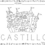 Dibujo de castillo 2 para colorear