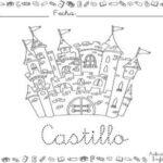 Dibujo de castillo para colorear