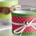 Farolillos navideños con papel de colores