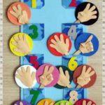 Mural para aprender los números