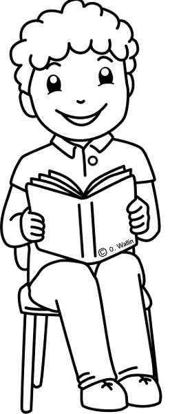 Dibujos Para Colorear El Día Del Libro Actividades Infantil