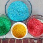 ¿Cómo hacer arroz de colores para trabajar con los niños?